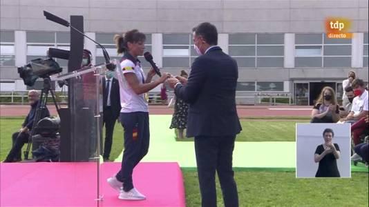 Sandra Sánchez pide al Gobierno por el futuro del kárate