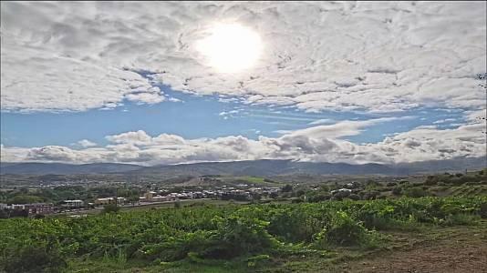 Temperaturas significativamente altas en zonas de Canarias.