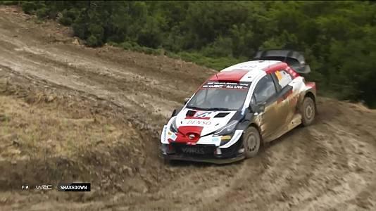 Campeonato del Mundo, Rally de Grecia. Resumen 1