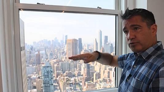 Carlos Galtier, testigo del 11-S, vuelve a hablar con TVE 20 años después