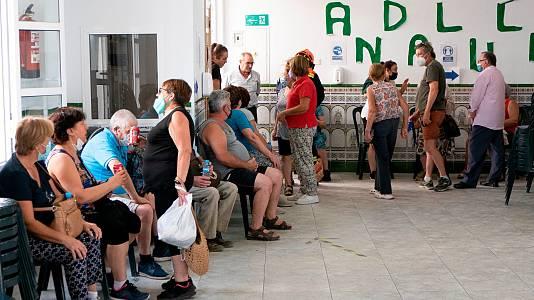 Más de 2.500 vecinos, desalojados por el incendio en Málaga