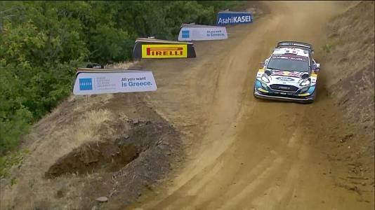 Campeonato del Mundo, Rally de Grecia. Resumen 3