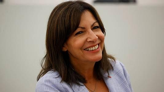 La alcaldesa de París, candidata a la presidencia francesa
