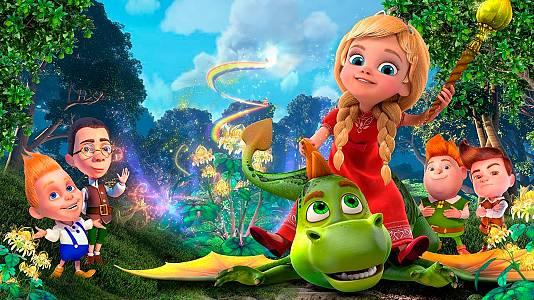 La princesa y su dragón. Una historia interminable