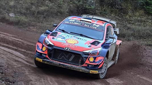 Campeonato del Mundo, Rally de Grecia. Resumen 4