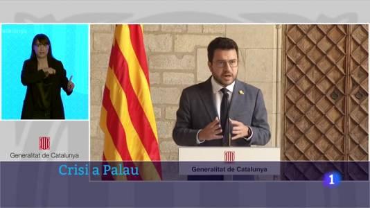 Pere Aragonès deixa Junts fora de la taula de diàleg