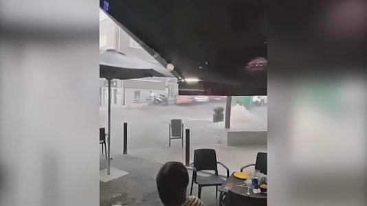 Danos pola treboada
