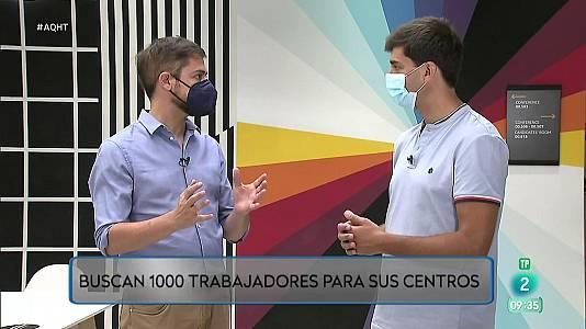 1000 contratos indefinidos en Amazon para toda España