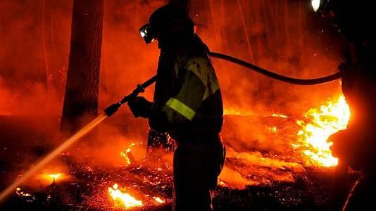 """Hablan los bomberos de Sierra Bermeja: """"No somos héroes"""""""
