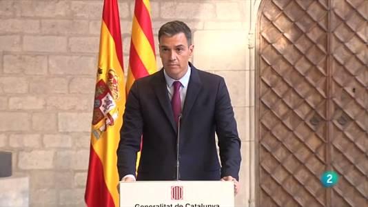 """Aragonès planteja a Sánchez el referèndum com la solució """"més inclusiva"""""""