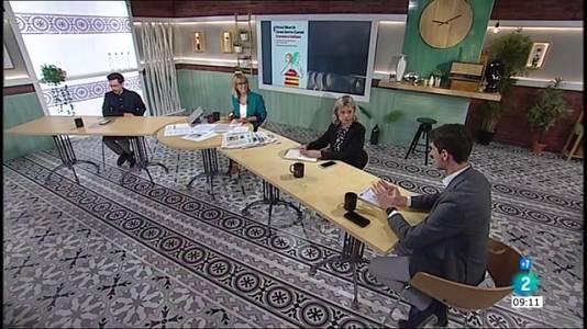 Elsa Artadi, reunió de la taula de diàleg i passaport covid