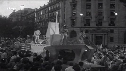 Cavalcada de les Festes de la Mercè del 1968