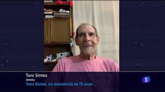 Toni Sintes, un maratonià de 72 anys