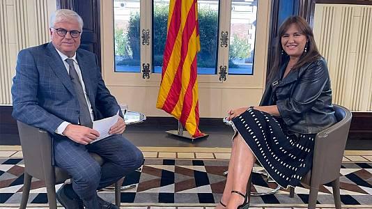 Entrevista a Laura Borràs, presidenta del Parlament