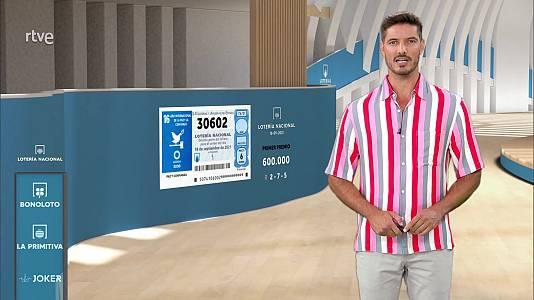 Sorteo de la Lotería Nacional del 18/09/2021