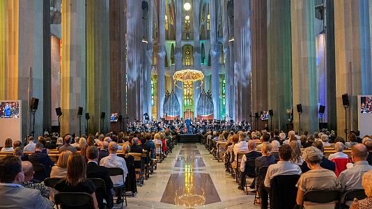Concierto de la Filarmónica de Viena en la Sagrada Familia