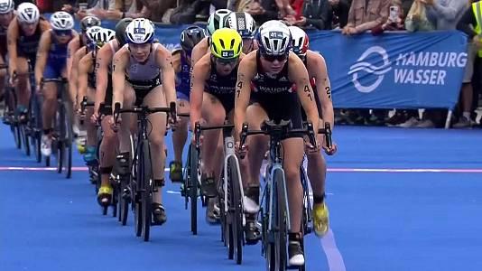 ITU World series. Prueba Elite femenina Sprint