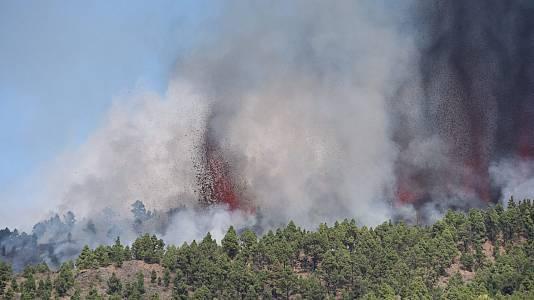 La Cumbre Vieja de La Palma entra en erupción
