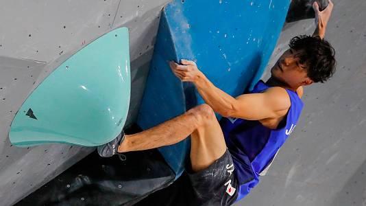 Los japoneses dominan en la categoría Búlder en el Mundial de escalada de Moscú