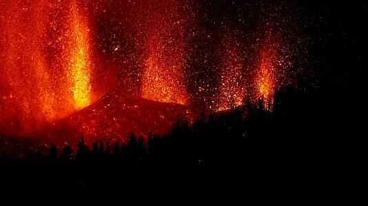 ¿Qué es una erupción estromboliana?