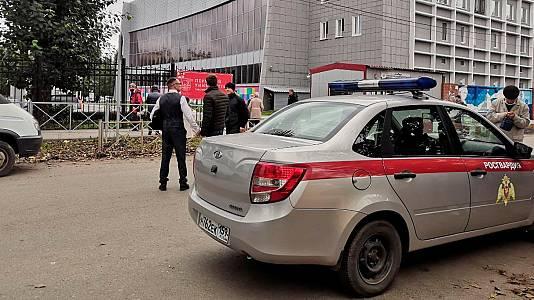 Al menos ocho muertos y 24 heridos en un tiroteo en la universidad rusa de Perm