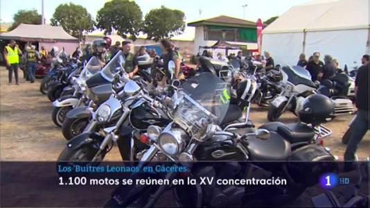 Concentración de los 'Buitres Leonaos' en Cáceres