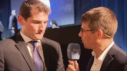 """Iker Casillas: """"Echo de menos la sensación del futbolista"""""""