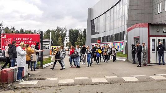 Al menos seis muertos y 24 heridos después de un tiroteo en una universidad rusa