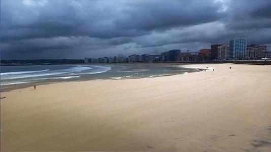 Chubascos y tormentas muy fuertes en el litoral de Cataluña