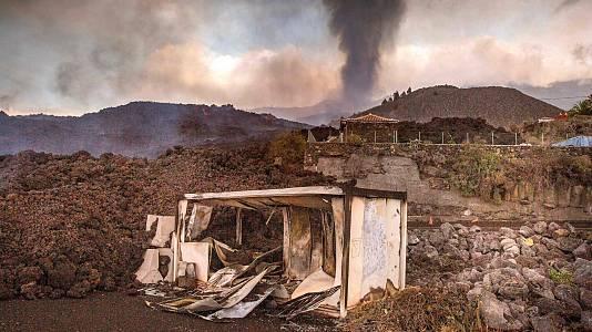 """Hablan los afectados por el volcán: """"No sé que voy a hacer"""""""