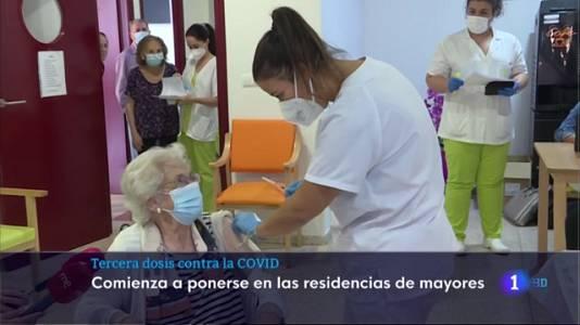 Extremadura comienza a inocular la tercera dosis de la vacuna contra la covid
