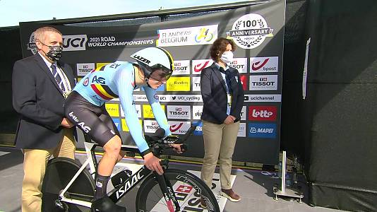 Camp. Mundo Ciclismo en ruta. Prueba CRI junior masculino