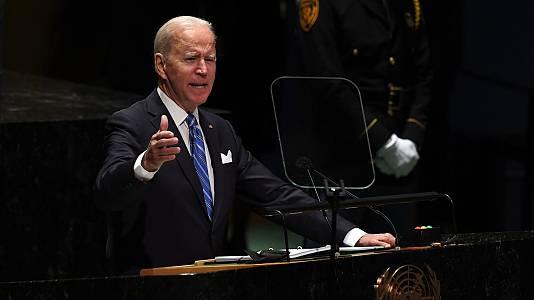 Joe Biden apuesta por la cooperación internacional en la ONU
