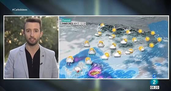 Pluges abundants al sud, vent i mala mar a la costa