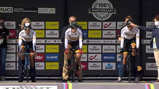 Campeonato del Mundo Ciclismo en ruta. Prueba CRI equipos mi