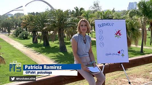 Consejos de Patricia Ramírez para no sentirse quemado