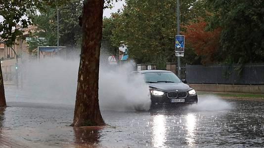 Una 'dana' deja lluvias intensas y varios desperfectos en el mediterráneo e interior español