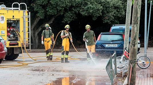 La DANA causa inundaciones en Extremadura, Levante y Baleares