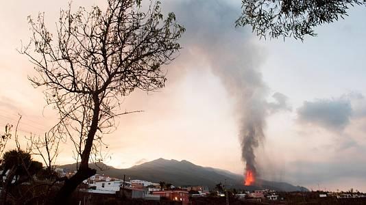La lava del volcán de La Palma cubre ya 166 hectáreas