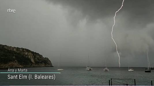 Tormentas muy fuertes en la mitad norte del área mediterráne