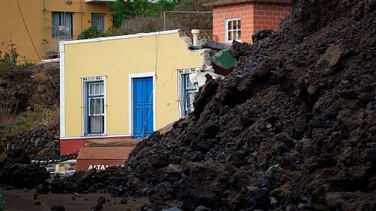 La lava arrasa con todo a su paso: suelo inutilizable en el que no se podrá construir ni cultivar en años