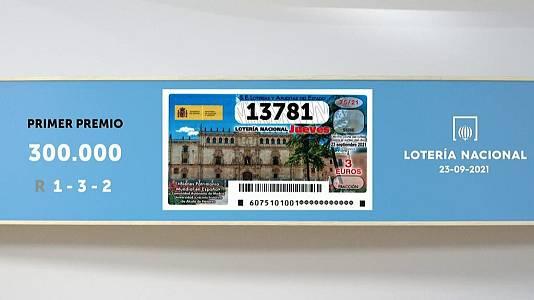 Sorteo de la Lotería Nacional del 23/09/2021