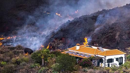 Sexto día de la erupción del volcán de La Palma