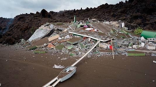 El Gobierno declarará La Palma como zona catastrófica y anuncia medidas para paliar los daños provocados por el volcán