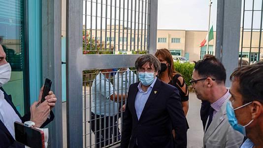 Tras más de 20 horas detenido, la justicia italiana deja en libertad a Carles Puigdemont sin medidas cautelares