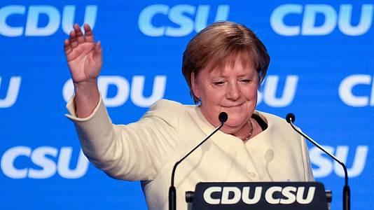 Los políticos españoles valoran la gestión de Merkel al frente de Alemania
