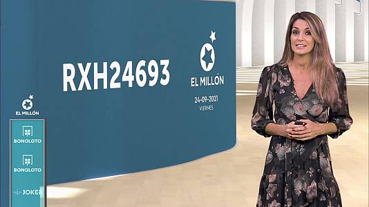 Sorteo de la Bonoloto y Euromillones del 24/09/2021
