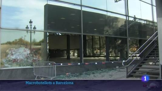 Nova nit d'incidents greus a un macrobotellot a Barcelona