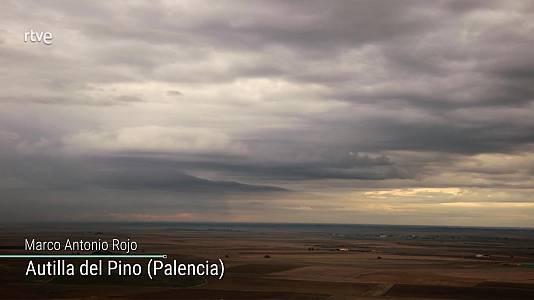 Tormentas fuertes en el Pirineo y Castilla-La Mancha