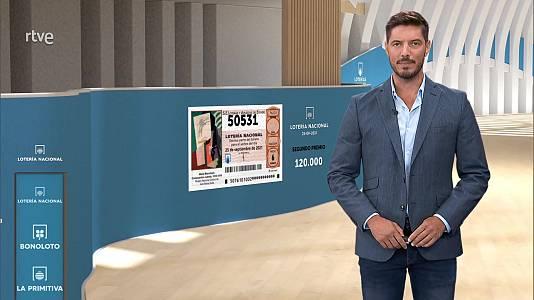 Sorteo de la Lotería Nacional del 25/09/2021